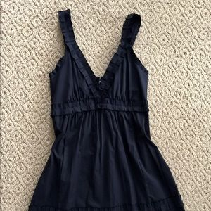 Anthropologie darling pleated strap dress  so cute